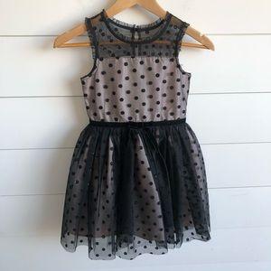 ZUNIE Tulle Polka Dot Dress Size 6X